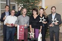 Haben sich als Organisationsteam für den Weihnachtsmarkt kräft