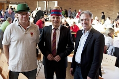 Begrüßten die Gäste beim Gesamtkonvent der Narrenvereinigung: