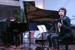 Konzert Michael Wollny und Vincent Peirani in Allensbach