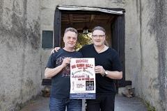 Die 'Rock in den Mai'-Veranstalter: Wolfgang Sensz und Oliver M