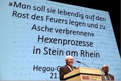 Auf Einladung des Hegau-Geschichtsvereins präsentierte Dr. Pete