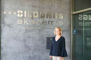 Bildungsakademie Singen - Karin Marxer, Leiterin der Bildungsaka