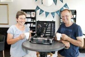 Repair-Café Gottmadingen, Amande Lorch und Andreas Lorch