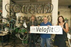 Velofit - Wiederverwerten und Teilhabe ermöglichen