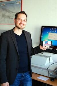 Die Digitalisierung wird in seinem Unternehmen zu neuen Arbeitsplätzen führen, prognostiziert Stefan Odenbach,