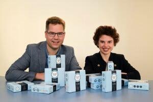 """""""Begeisterte Mitarbeiter sind die besten Botschafter für ein Unternehmen"""" sind die Vinergy-Geschäftsführer Jan Vinzenz und Eva Krause (v.l.n.r.) überzeugt."""