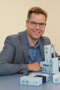 """Wir haben unsere Mitarbeiter gefragt, ob sie mit Zeiterfassung oder auf Vertrauen arbeiten wollen. Sie haben sich für die Zeiterfassung entschieden"""", berichtet Jan Vinzenz Krause, Geschäftsführer der Vinergy GmbH in Singen."""
