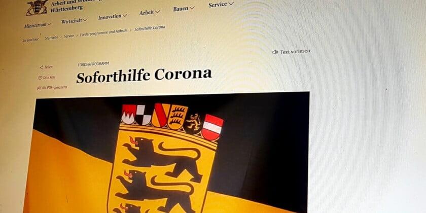 Coronahilfen: Da blickt doch keiner mehr durch